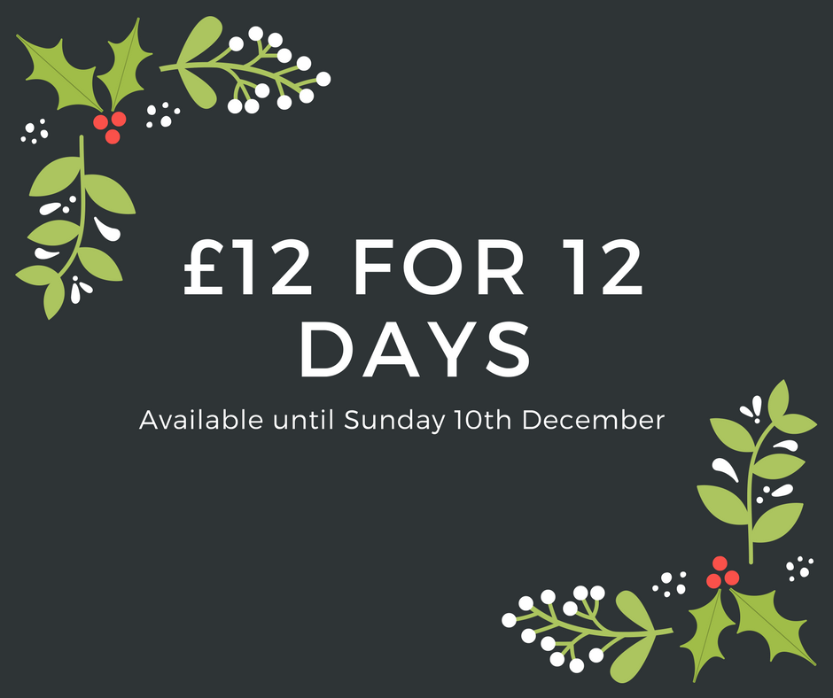£12 for 12 days