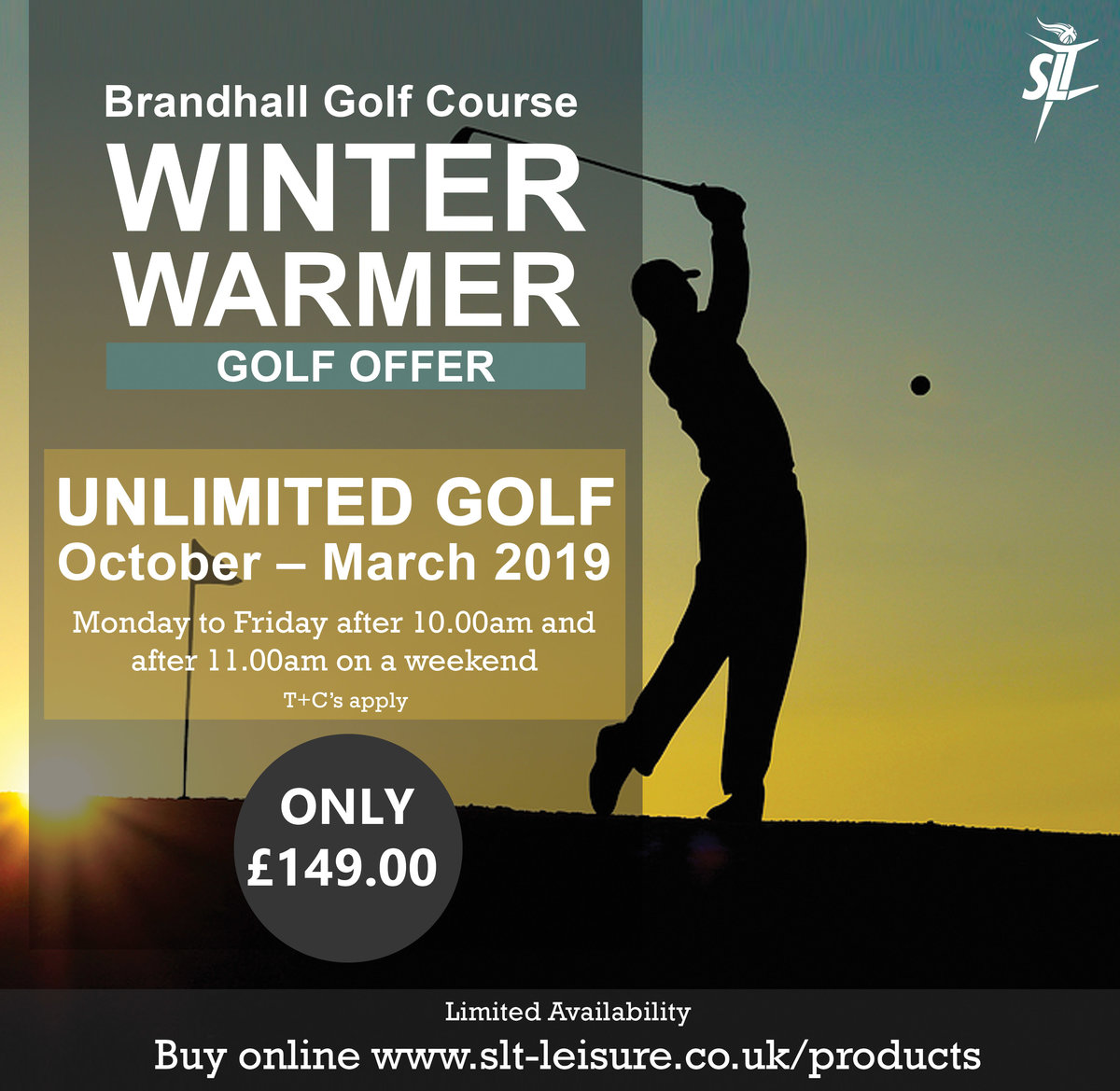 Winter Warmer Golf Offer