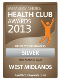 members' choice health club awards silver winner ryland centre